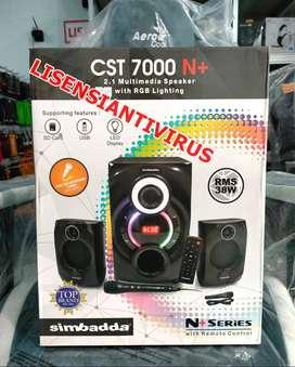Speaker Simbadda CST7000 CST 7000 N+ DIsplay Bluetooth FM AUX Remote