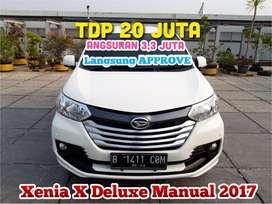 Daihatsu Xenia X Deluxe Manual 2017/2018,VelgBlackpolis,mbl sprti BARU