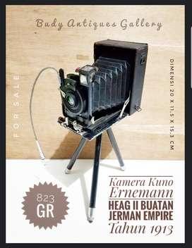 Antique 1913 Ernemann Heag II Camera Made In German Empire