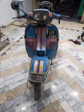 1month used vespa compny