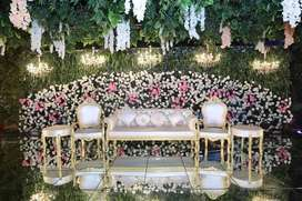 Catering on Wedding With Food,Flower Decoration,Stage,Lights,& ect...