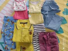 Borongan 10pcs Mix Baju Anak Perempuan 2.5-5thn
