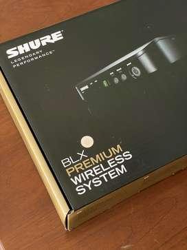 Shure Wireless SM58 / BLX24A New Fullset Garansi Resmi