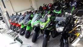 Ninja fi 2014 cash /kredit  bali dharma motor
