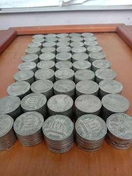 Di Jual koin kuno Rupiah Indonesia Tahun 1973 dan 1978