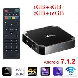 Android TV Box for making your TV LED Smart and cast your screen