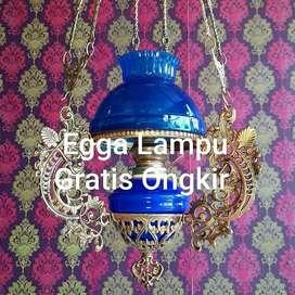 Produksi Lampu Antik Gantung Hias Joglo Gebyok Cafe