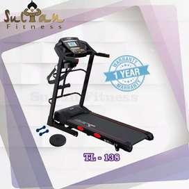 Alat Fitness Treadmill TL 138 Total Health Gym