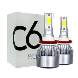 LAMPU LED MOBIL C6 H7 ISI 2PC