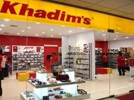 Urgent requirement in khadim,s showroom ranchi