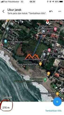 Tanah 1.73 Are Di Berawa Canggu Dekat Pantai Finns Beach Club - Bali