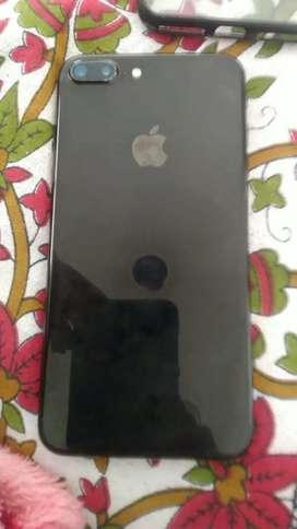 iPhone 7 plus 128 gb black colour