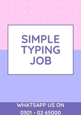 Part time job opportunity for males & females data entry job