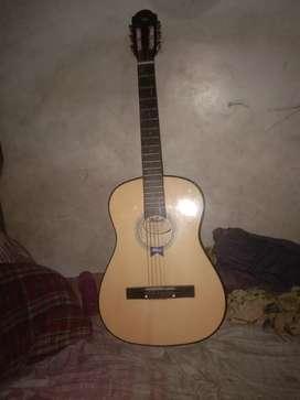 Jual cepat gitar kapok akai mg 010 kondisi senar 1 putus