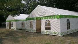 tenda darurat model rangka  uk 6x8
