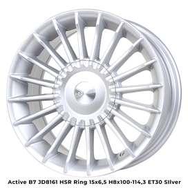 Velg mobil terlengkap kab banyumas 446 Ring 15 Hsr wheel