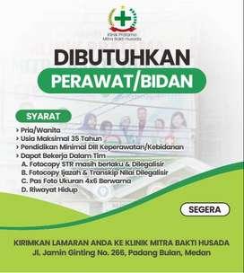 Cari Perawat/Bidan