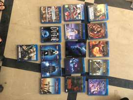 15 Original blue-ray discs for sale