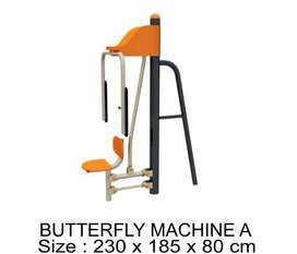 JUAL ALAT FITNES OUTDOOR TERMURAH - BUTTERFLY MACHINE A