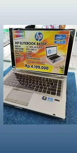 Laptop Hp 8470p Siap Lembur Kerja