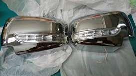 cover spion pajero lama chrome plus lampu
