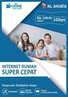 XLhome WiFi 30 Mbps + Tv box