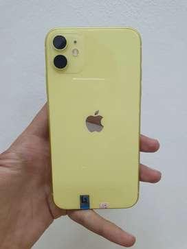 Iphone 11 256gb yellow istimewa sesuai deskripsi
