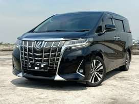 TOYOTA ALPHARD 2.5 G ATPM 2020 HITAM LOW KM like a new car plat genap