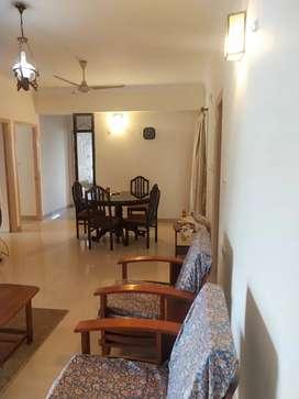 Panampilly nagar 3 bhk fully furnished flat