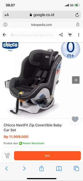 Carseat Chicco Next Zip