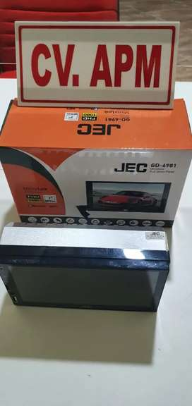 "Head unit double din mirror link android 7"" plus pasang di Ciputat"