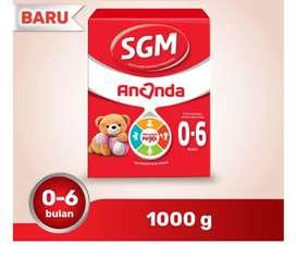 Susu SGM ananda 0-6bln 1000g