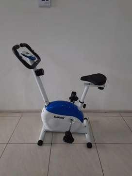 Magnetic bike total blue