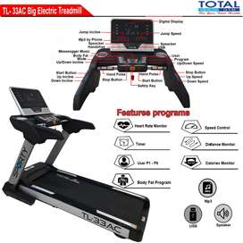 Alat Olahraga Treadmill Elektrik New TL-33   Treadmill Listrik 4 HP