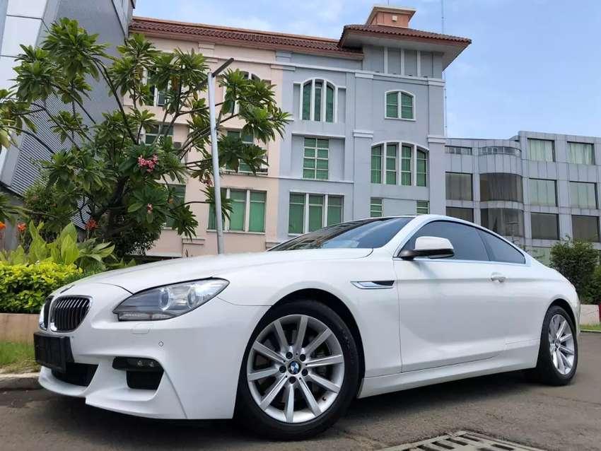 BMW 640i Coupe 2014 Nik14 White On Saddle Tan Km20rb Full Wrnty-2020 0