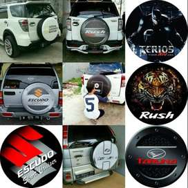 Cover/Sarung Ban Terios/Jeep/Suzuki Vitara/Rush/Perkasa Hulk and Frien