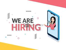 hiring for female candidate Direct joining pickup n drop facility