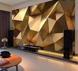 Wallpaper- Interior wall decor Wall coverings