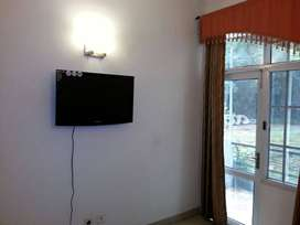 Fully Furnished 2 BHK + Study + Toilet