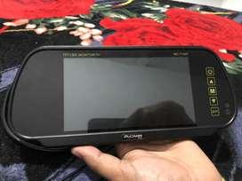 My carr tv/ LED TV/ monitor untuk di kaca spion