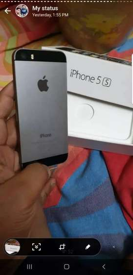 iPhone 5S 16gb with Bill boximported sellers warranty