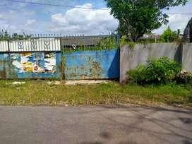 Di jual cepat tanah bekas pabrik pralon