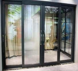 Jasa Pemasangan Pintu Aluminium Pekanbaru