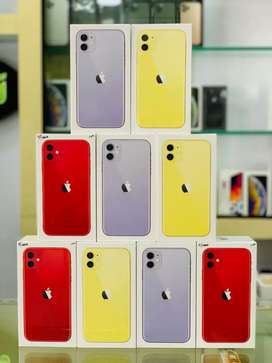 iPhone 11 128gb purple/yellow/red new sealed