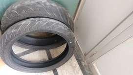 MRF revz C1 tyres of duke 390