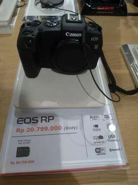 New Canon EOS RP Body Only Promo 0%