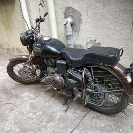 Enfield bullet ran only 4000 KMS.