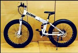 Dzire Fat Foldable Bicycle with 21 Gears