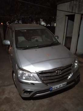 Toyota Innova 2011 Diesel Well Maintained rent per Dena hai
