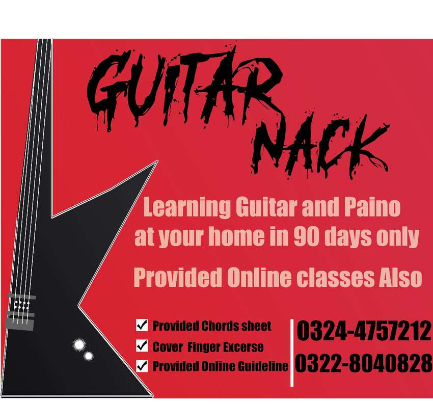 Guitar and Piano classes